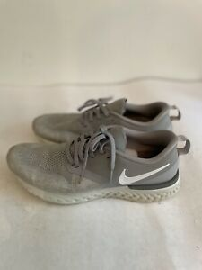 Nike Odyssey React Flyknit Mens Running Shoes Gray AH1015-010 Size 9