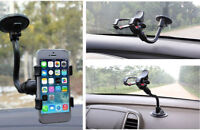 Universal 360 Rotating Car Windshield Mount Cell Phone Holder Stand Bracket