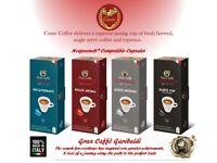 Gran Caffe Garibaldi Nespresso* Compatible Capsules - 80 Capsules