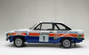 SUNSTAR 4850 or 4852 Ford Escort RS1800 Mikkola Hertz 1979 Wilson 2008 1:18th