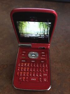 LG Lotus LX600 - Red (Sprint) Cellular Phone