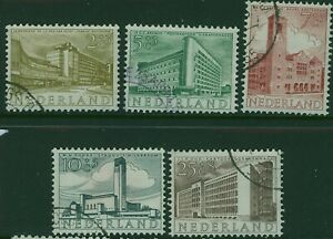 NETHERLANDS 1955 Cultural & Social Relief set SG 810-4 used