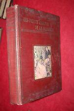 LES PETITS ENFANTS DE LA MARQUISE par MARGUERITE LEVRAY éd A.MAME  ILLUSTRATIONS
