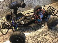 Team Associated SC10 RTR !!!!  Futaba Brushless Motor & Esc Lipo Aluminum Parts