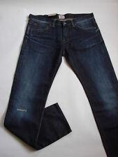 JEANS EDWIN ED80 SLIM ( dunkel baumwolle - blau rigger repair ) GRÖßE W29 L32