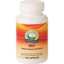 Kelp 400mg 100 Capsules Nature's Sunshine