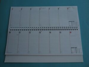 Tischkalender  2022 Tisch Querkalender Notizkalender Bürokalender 1 Stück