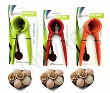 High Quality Stainless Steel  Nut Cracker,Green/Red/Orange
