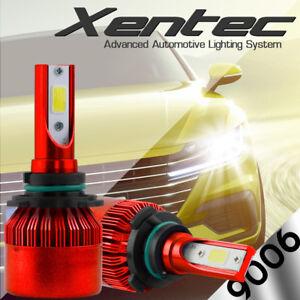 XENTEC LED HID Headlight kit 9006 White 2001-2006 Chevrolet Silverado 2500 HD