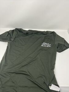 Satisfy Running Deserter Men's Short sleeve Top Army Green Size 1 (Small)