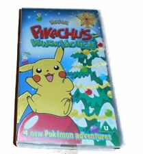 Pokemon Pikachus winter vacation VHS Video small box