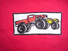 Aufnäher Monster Truck Auto Patches Applikation Car Motor tuning Engine Sport