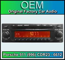 Porsche 911 (996) CDR23 Becker BE 6612 CD player Decoded Plug & Play, stereo