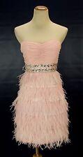 Alex & Sopkia USA Grand $220 Blush Prom Formal Dress size 5 Cocktail Junior
