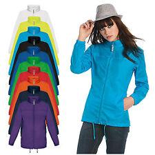 B&C Sirocco Jacket women Regenjacke ungefütterter Damen Windbreaker figurbetont
