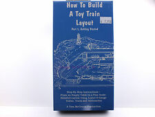 New Sealed VHS RailRoad Video Tape - How To Build A Toy Train Layout Part 1