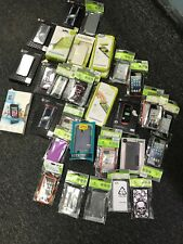 iPhone 4/4S/5/5S LOT of Phone Cases AND Screen Protectors