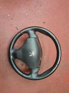 Peugeot 206 GTI Leather Steering Wheel  206 gti cc 2002 onwards