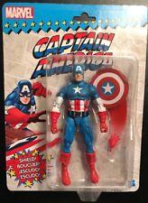 "Marvel Legends (Vintage Style Packaging)! New Captain America 6"" Action Figure!"