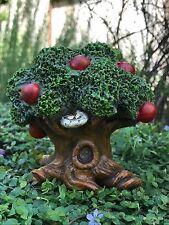 Miniature Dollhouse Fairy Garden Gnome ~ Woodland Apple Tree ~ New