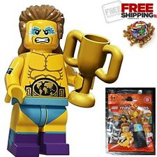LEGO Minifigures Series 15   71011 Collectible New No: 14 Wrestling Champion