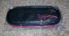 Rare NIP Mary Kay MK Signature Bag Cosmetic Case New Lips Tips Makeup Bag Mirror
