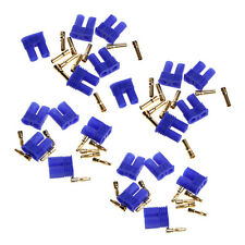 10 Pairs EC2 2.0mm RC Lipo Battery Connector Gold Bullet Banana Plug Male&Female