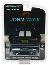 Greenlight 1970 Chevrolet Chevelle SS 396 John Wick Movie Chapter 2 1:64 44780-F