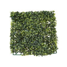 Artificial Boxwood Greenery Mat Tile, 10-1/2-Inch