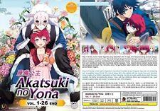 ANIME DVD~Akatsuki No Yona(1-26End)English subtitle&All region+FREE GIFT