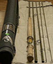 11' 6'' 7/8wt 4sec IM12 Switch fly rod with Extra TIP rod tube and rod sock