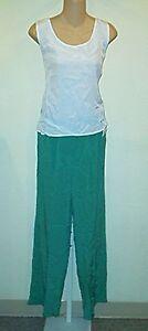 Sutton Studio  NWT $149  Silk   Tank Top & Pants M