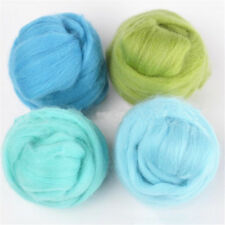 5g Wool Felt Soft Fiber Roving For Needle Felting Hand Spinning Materials Diy