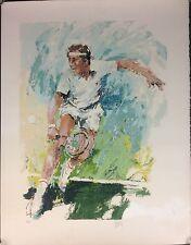 "1970's S/LE Wayland Moore ""Winning Volley"" Original Serigraph, 84/300, 23x29"""