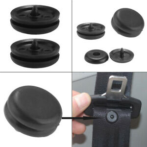 5× Car Safety Seat Belt Buckle Holder Fastener Clips Stopper Button Accessories