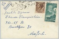 59886 -  ITALY - POSTAL HISTORY:  COVER  -  BIRDS lighthouses MUSIC
