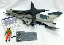 1987 GI Joe ARAH Skystorm X Wing Chopper Complete Instructions Figure Weapon