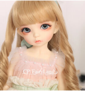New Lace Dress clothes Hair shoes For 1/6 BJD Doll Fairyland Littlefee Ante