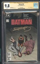 BATMAN 404 CGC 2/87 YEAR 1 STORYLINE BEGINS SIGNED BY FRANK MILLER STORY