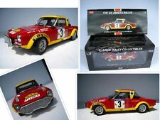 "FIAT 124 ABARTH ""Rally East African Safari"" stata limitata 799 pezzi * 1:18*sun Star"
