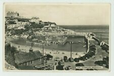 The Harbour Newquay Dearden & Wade #1930 RP Postcard, C071