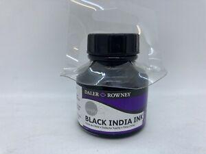 Daler Rowney Black India Ink 1 oz