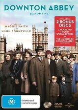 Downton Abbey : Season 5 (DVD, 2015, 5-Disc Set) LIKE NEW R4 DVD