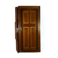 hazlo tú mismo miniaturas Casa De Muñecas Pequeño Par De Bisagras De Puerta Con Tornillos