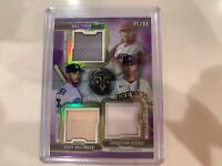 MLB Mystery Pink Packs Auto Patch Relic Rookies 2 Hits Trout READ LOOK!!!! Lot 1