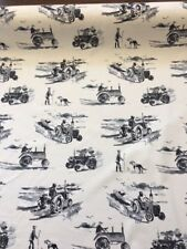 prestigious textiles tractor fabric farm curtains blind upholstery country