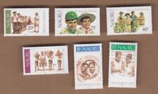 1982 Nauru, Boys Scouts, SG 256/61 Set 6, MUH Stamps