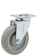 "Caster Swivel Plate: TP 2-3/8x3-5/8. Polyurethane Wheel: 5"" x 1-1/4"". Bearing."