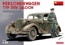 Miniart 1:35 MB Type 170V Saloon Personenwagen German WWII Car Model Kit
