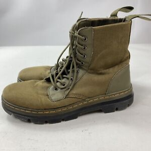 DR. Martens COMBS Green Combat Boot US 11 Mens VERY NICE